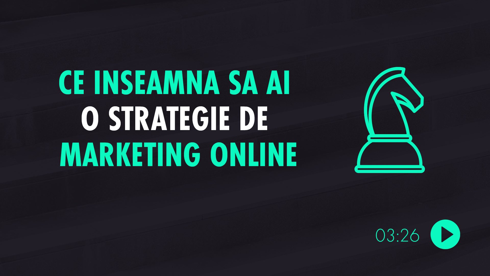 Definirea strategiei de marketing online
